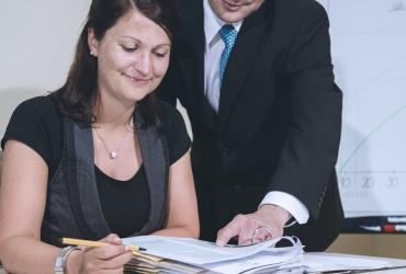 Qualifizierte und zuverlässige Mitarbeiter